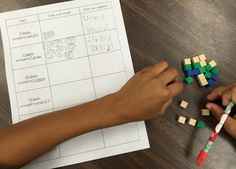 Relating multiplication and division in third grade - a hands-on math activity. Teaching Division, Math Division Worksheets, Division Activities, Multiplication And Division, Math Activities, Math Games, Division Strategies, Math Fractions, Teaching Math