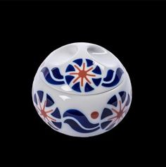 Joyero esférico FLOR Soccer Ball, Decorative Bowls, Tableware, Flower, Vases, Tiles, Figurative Art, Jewel Box, Crates