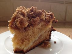 Hungree Girl: Coffe Cake with Cream Cheese Filling