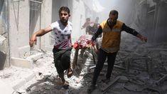 Aleppo zwaar onder vuur, relatieve rust in andere delen Syrië   NOS