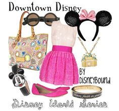 Downtown Disney- this outfit would b fun for a night out while we r in Downtown Disney b4 the cruise!