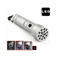 3-in-1 Multifunction LED Flashlight(UV Lamp and Laser Pointer) 3-in-1 Multifunction LED Flashlight(UV Lamp and Laser Pointer) [61326] - US$15.49 : ExpressExtreme