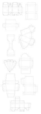 FREE SVG BOX COLLECTION 3 (comes as single download) PIE/CAKE SLICE treat box, CARROT/ICICLE box favour, MAILER 3D ENVELOPE, GABLE, PRISM TRIANGLE (toblerone shaped) BOX, CUBE, and more Silhouette Cameo Boxes, Plotter Silhouette Cameo, Silhouette Cameo Projects, Kirigami, Paper Tea Cups, 3d Templates, Freebies, Cricut Creations, Craft Tutorials