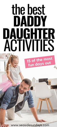 Daddy Daughter date ideas! I love this list of great father daughter dates for young children and their daddies! Great father's day gift idea fun for toddlers 15 Daddy Daughter Dates That Will Make Her Day Daddy Daughter Dates, Daughters Day, Father Daughter, Mother Son, Good Daddy, Good Good Father, Fathers Day Date, Fun Activities For Toddlers, Summer Activities