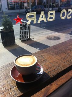 Dark Horse Espresso Bar Espresso Bar, Bistros, Brick And Mortar, Coffee Culture, I Love Coffee, Commercial Interiors, Dark Horse, Interior And Exterior, Toronto
