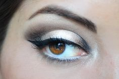 Eye Makeup Look - Watch tutorial: http://www.youtube.com/watch?v=rWfCJvng7D4