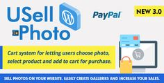 USell Photo by AWSystem Cart system for letting users choose photo, select product and add to cart for purchase.Sell photos on your website WORDPRESS. Easily create galleries and increase your sales. Features 1. Cart system for letting users choose ph