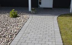 Rock Garden Design, Sidewalk, Inspiration, Projects, Blog, Handmade, Renovation, Exterior Homes, Garden Paths
