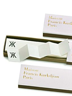 Incense Paper  by  Maison Francis Kurkdjian    A great treat for yourself or someone else - instant beautiful smells