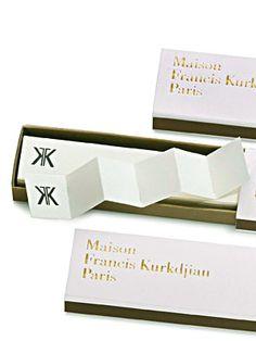 Incense Paper by Maison Francis Kurkdjian