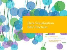 data-visualization-best-practices-2013 by Jen Underwood via Slideshare