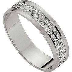 Buy 9ct White Gold Diamond Cut Wedding Ring - 5mm at Argos.co.uk - Your Online Shop for Ladies' wedding rings and bands, Ladies' rings, Ladies' jewellery, Jewellery and watches.