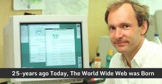 On This Day 25-years Ago, The World's First Website Went Online #esflabsltd #securityawareness #cybersecurity