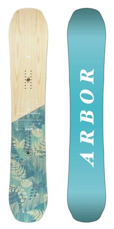 Swoon Camber 147 Snowboard for women by Arbor
