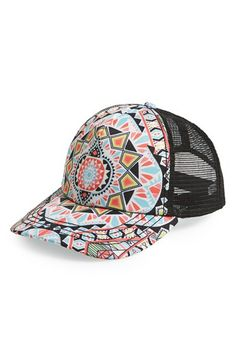 Billabong  Tiles and Tides  Trucker Hat available at  Nordstrom Laid Back  Outfits 95e8b87e302b
