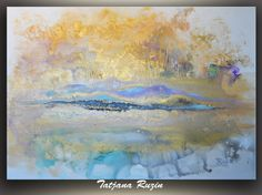 Large Abstract Painting Original Acrylic by OriginalPaintingsTR