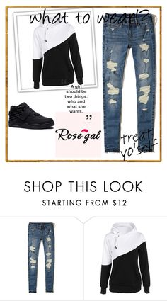 """Rosegal 3"" by abecic ❤ liked on Polyvore featuring Hollister Co."