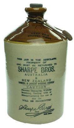 Ceramic Jars, Stoneware Clay, Bottles And Jars, Beer Bottles, Antique Quotes, Antique Bottles, Crock, Pottery, Antiques