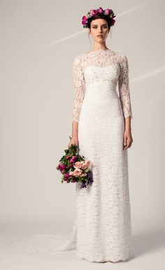 April Dress from the Temperley Bridal Iris Collection