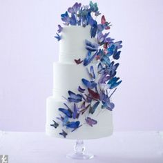 Wedding Cakes You'll Want to Copy (Oh & Eat Too!) – Butterfly Cake