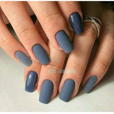 Wunderschöne Winter Nail Art Designs - - The Effective Pictures We Offer You About nails shape A quality picture c Best Nail Art Designs, Nail Polish Designs, Acrylic Nail Designs, Classy Nails, Stylish Nails, Trendy Nails, Hair And Nails, My Nails, Nagel Gel