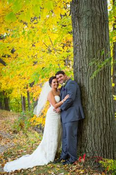 Autumn, the best time to have your wedding in Cleveland!