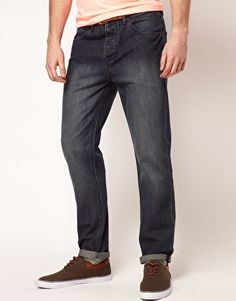 ASOS Slim Jeans With Mid Wash