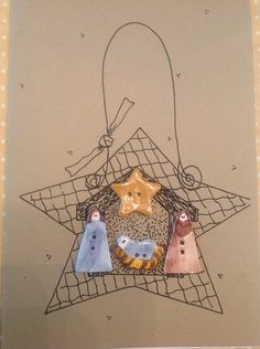 My Stitching Peace Patterns - My Stitching Peace - Wow! This site has great patterns (for purchase). A lot of inspiration here! Christmas Jesus, Christmas Nativity Scene, Christmas Canvas, Christmas Holidays, Nativity Crafts, Christmas Crafts, Nativity Sets, Beautiful Christmas Decorations, Christmas On A Budget