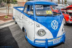 VW truck or bus made into a truck!? Lol love it