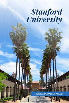 Explore the Stanford University Campus in Palo Alto California. #Stanford #California