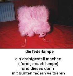 Featherlamp - Federlampe