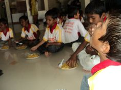 Clear Car Rental's CSR focus on poverty alleviation provided Food to Poor-supported orphanage Children