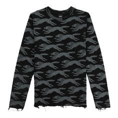 Stark Jumper Drop Dead Clothing, The Only Exception, Jumper, Menswear, Game, Sweatshirts, Long Sleeve, Cotton, Mens Tops