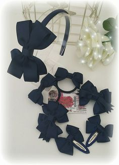 Have you seen this Amazing back to school Head band bundle set in my etsy shop handmadefrills, navy blue, bobbles, clips, snap clips, navy, hair accessories,headband, school uniform , uniform, handmade, navy blue clip, navy blue bobble,https://www.etsy.com/uk/listing/251951530/navy-blue-headband-set-navy-blue-school