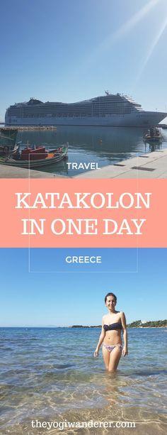 How to spend a perfect day in Katakolon, Greece #Travel #Cruise #MedCruise #MediterraneanCruise