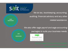 Tax and Financial Services done by Just Jess | Tax and Financial Services | Findall Classifieds South Africa Sage Payroll, Sage Accounting, Industry Sectors, Bookkeeping Services, Income Tax Return, What To Sell, Financial Assistance, Free Classified Ads, South Africa