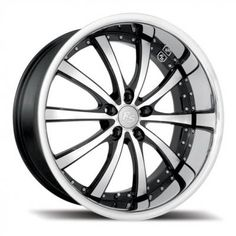 RS Futura 8.5 x 22 Inch Alloy Wheels Deep Dish Polished Face