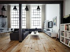 This Polish Loft Apartment is All Kinds of Cool - UltraLinx