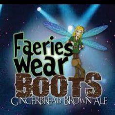Fairies wear boots