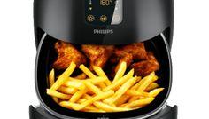 Airfryer voor beginners: voorverwarmen en broodjes afbakken Air Fryer Review, Hand Blender, Drip Coffee Maker, Food And Drink, Snacks, Healthy, Kitchen, Recipes, Om
