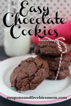 Easy chocolate cooki