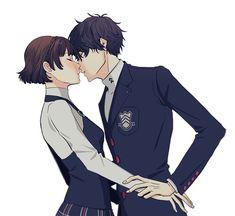 persona 5 Akira x Makoto