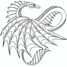 printable dragon coloring pages - Dragonvale Dragons Coloring Pages