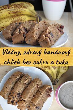 Homemade Banana Bread, Healthy Banana Bread, Healthy Sugar, Healthy Baking, Healthy Desserts, High Protein Desserts, High Protein Recipes, Low Calorie Recipes, Low Fat Breakfast