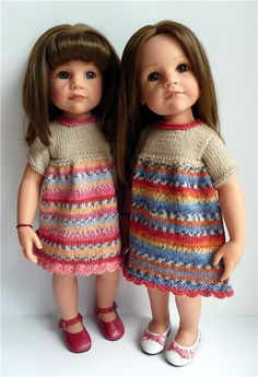 Здравствуйте, дорогие жители Бэйбиков! Сегодня я хочу показать свои первые вязалочки для любимых кукол Готц. Приглашаю всех к просмотру. Алиса