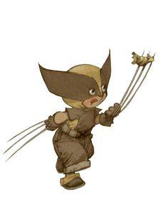 Baby Wolverine by Alberto Varanda