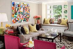 Tamara Mack Design - Interiors - eclectic - family room - san francisco - Tamara Mack Design