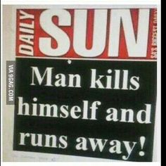40 Newspaper Headlines That Push The Limits Of Human Stupidity Funny Pictures Tumblr, Tumblr Funny, Best Funny Pictures, Newspaper Headlines, Funny Signs, Funny Memes, Hilarious, African Memes, Humor