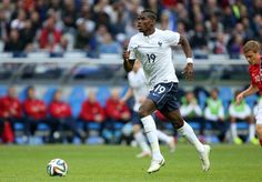 Paul Pogba of France in action during the international friendly...
