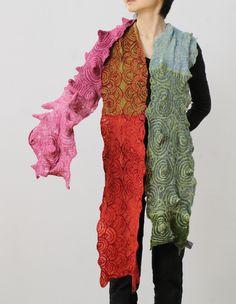 """- בגדים הם """"גידולים"""" על גוף : עיצוב - LEIKO FELT gallery ー内山礼子ー"""
